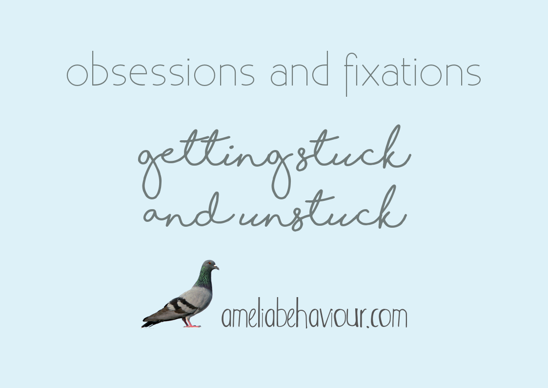obsessions fixations unstuck ameliabehaviour