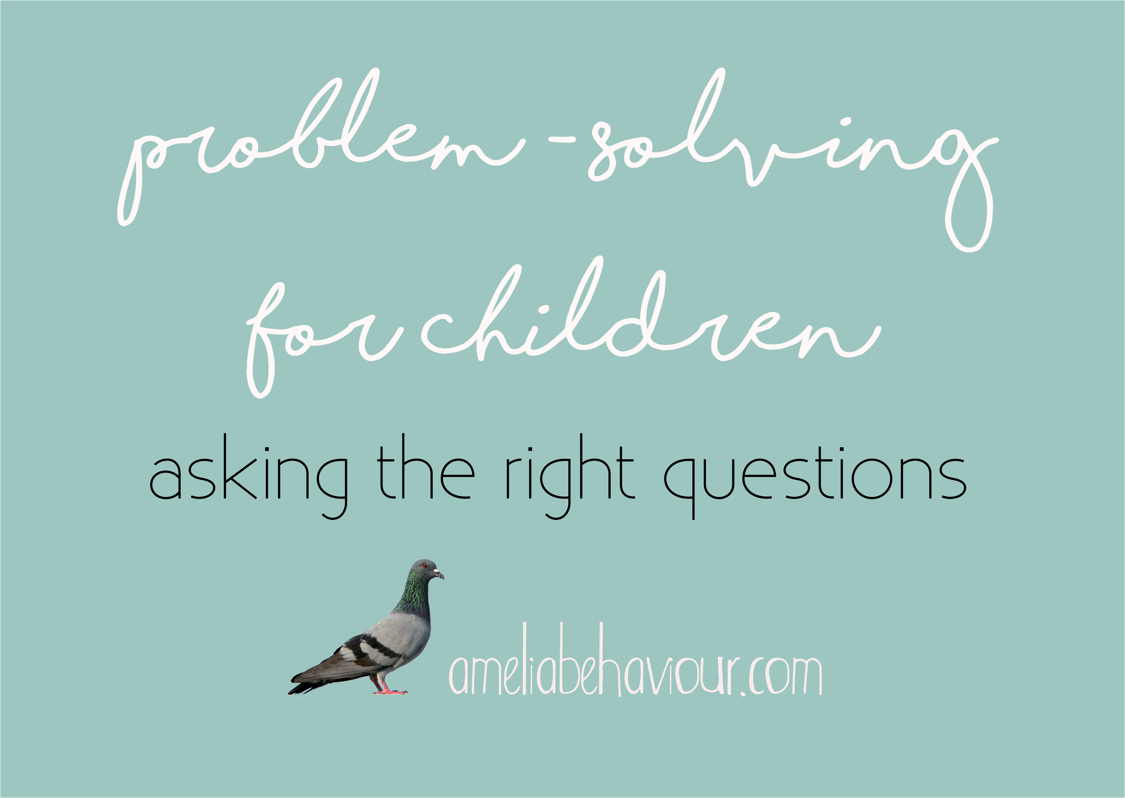 Problem-solving for children: asking the right questions