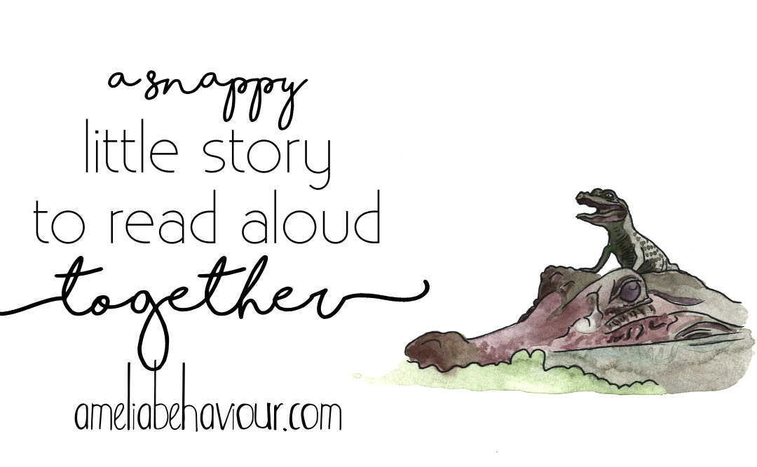 A snappy little story to read aloud together