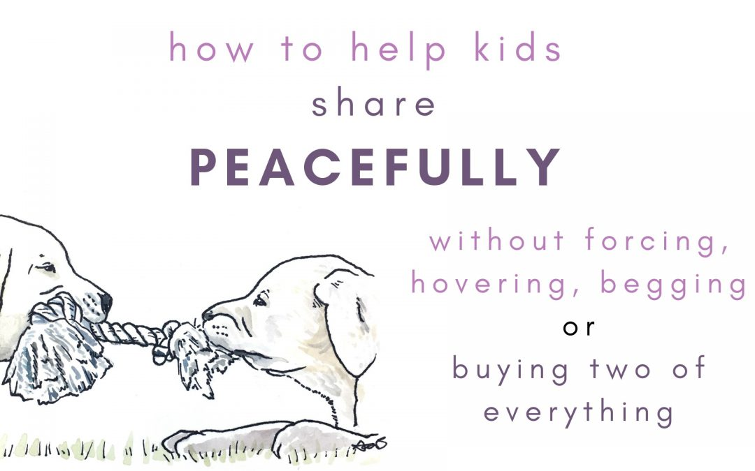 Peaceful sharing for younger kids (without buying two of everything)