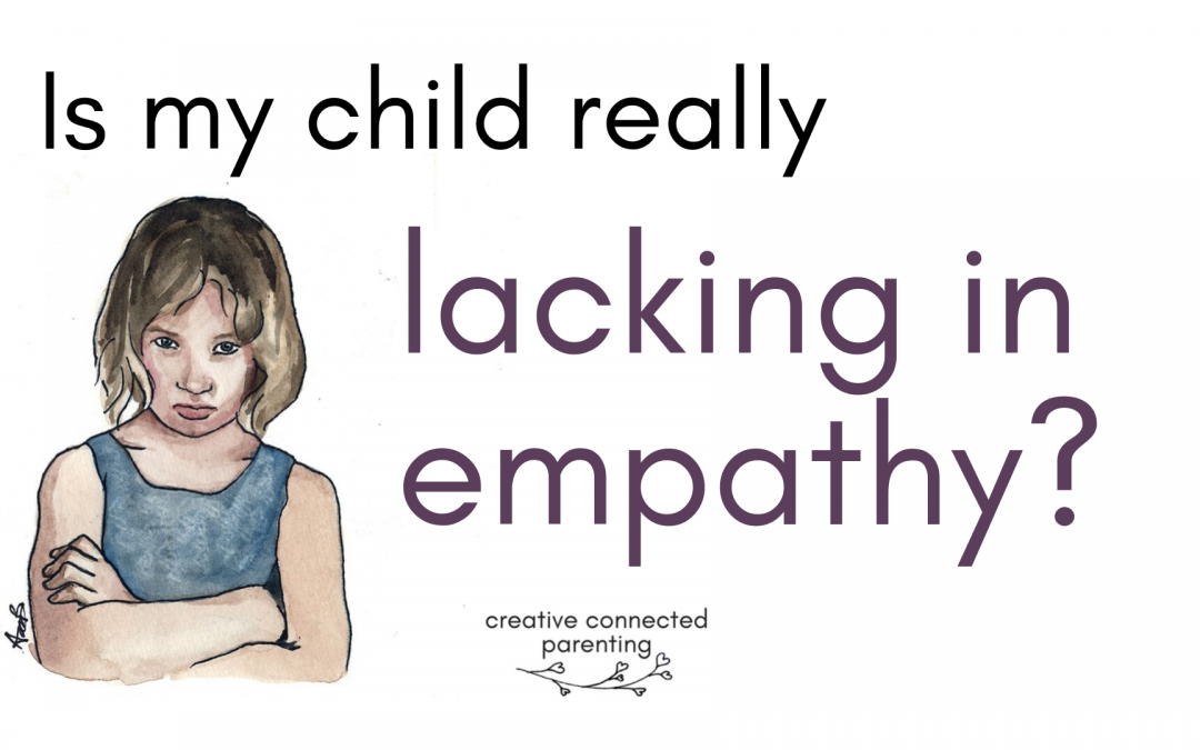 My child lacks empathy… should I be worried?